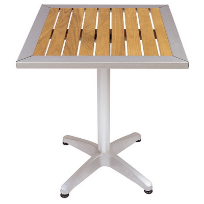 Aluminum Patio Tables on Wooden Tables   Aluminum Wooden Tables   Patio Wooden Tables